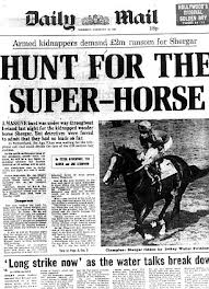Hunt for super horse