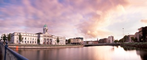 Cork City Hall Sunset