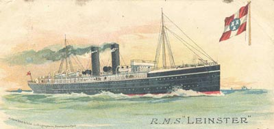RMS Leinster, from the official site