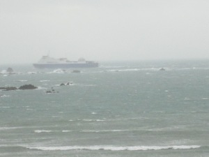 The Commodore Goodwill outbound to St Malo this lunchtime