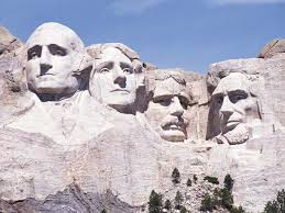 Mount Rushmore, part of the Black Hills stolen from the Lakota