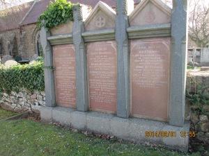 Westaway family memorial