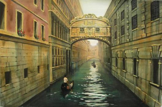 Bridge of Sighs, Venice. www.artween.com
