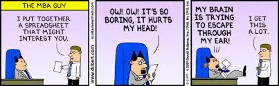 Dilbert spreadsheet
