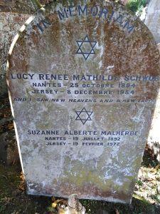 Lucie & Marcel grave