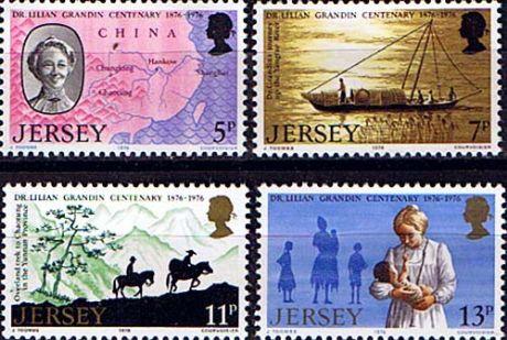 Lilian Grandin stamps