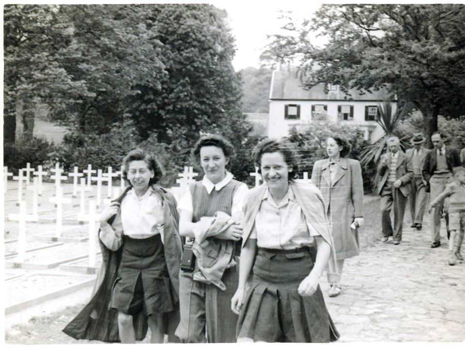 War graves St Brelade 1947